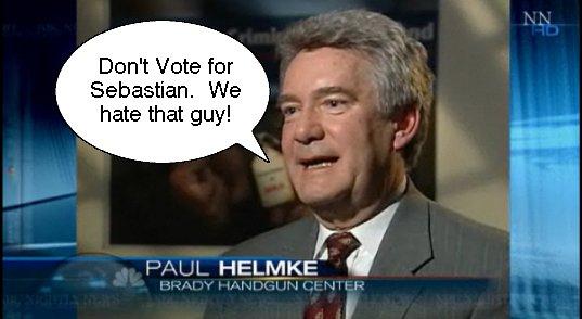 Paul Says Don\'t Vote Sebastian