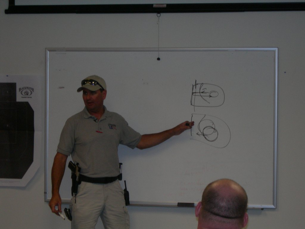 Todd gives some instruction on the LDA trigger and proper control
