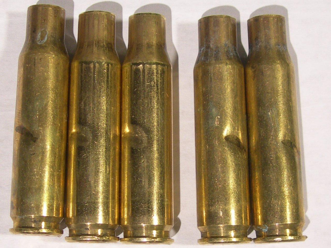 Weirdly Damaged .308 Brass