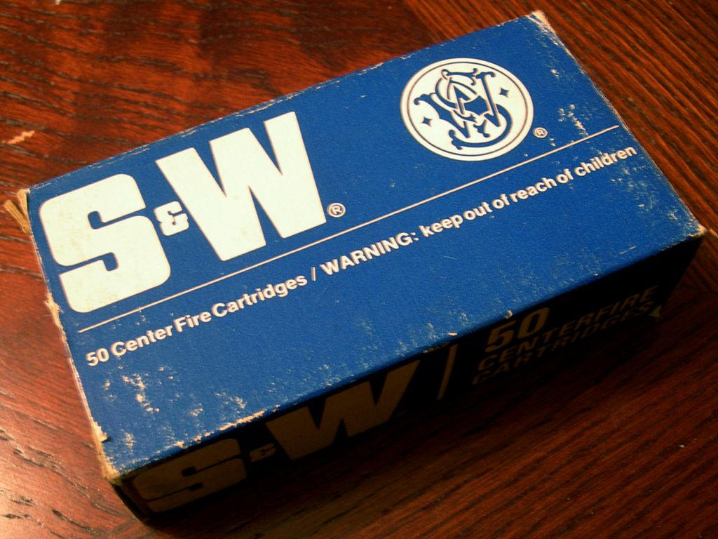 Smith & Wesson Ammo Front View
