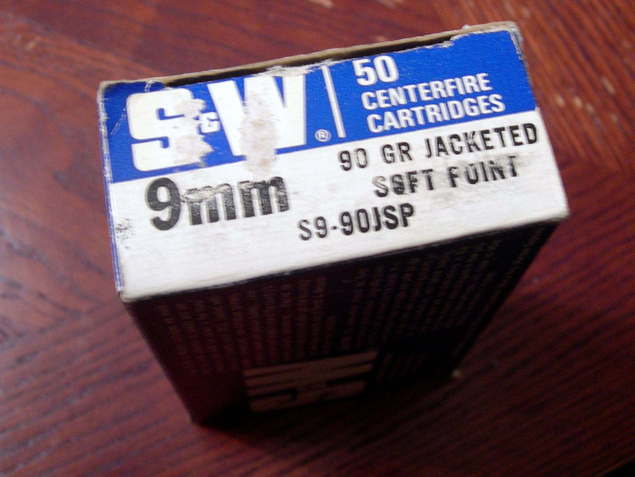 Smith & Wesson Ammo Side View