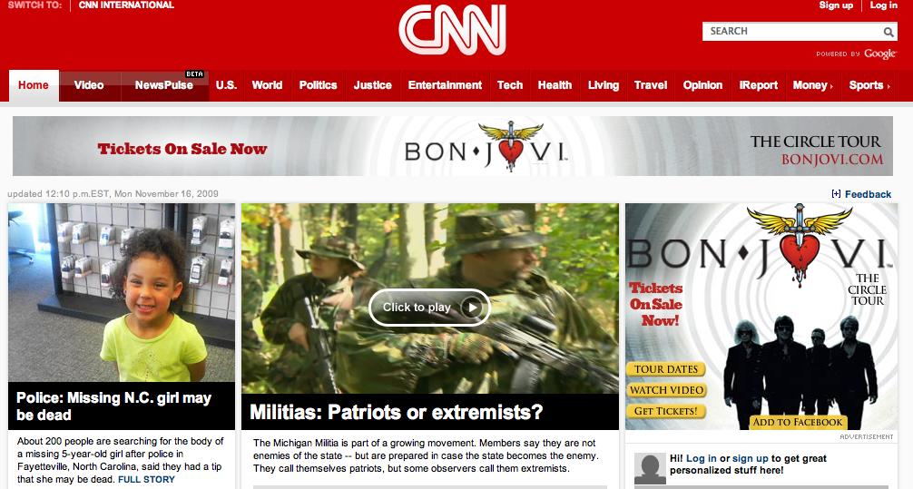 CNN Militia Bogeyman