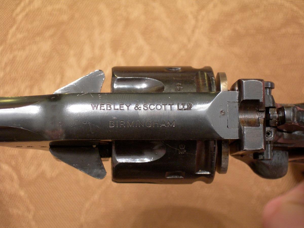 webley mark iv 455 serial numbers
