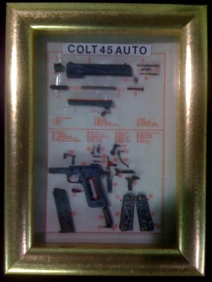 .45 Colt Miniature Part Breakdown