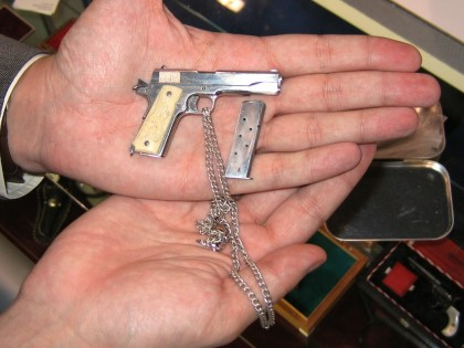 Scale M1911 Made by David Kucer of Miniature Arms Society