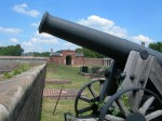 24lb Cannon, side view