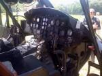 "Cockpit of UH-1 ""Huey"""