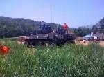 M3 Stuart Tank, side profile