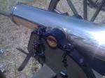 12 Pound brass howitzer
