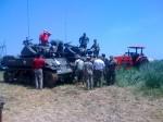 Two M3 Stuart Tanks