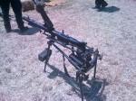 German MG42 machine gun top view