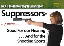 Suppressors NRA Ad
