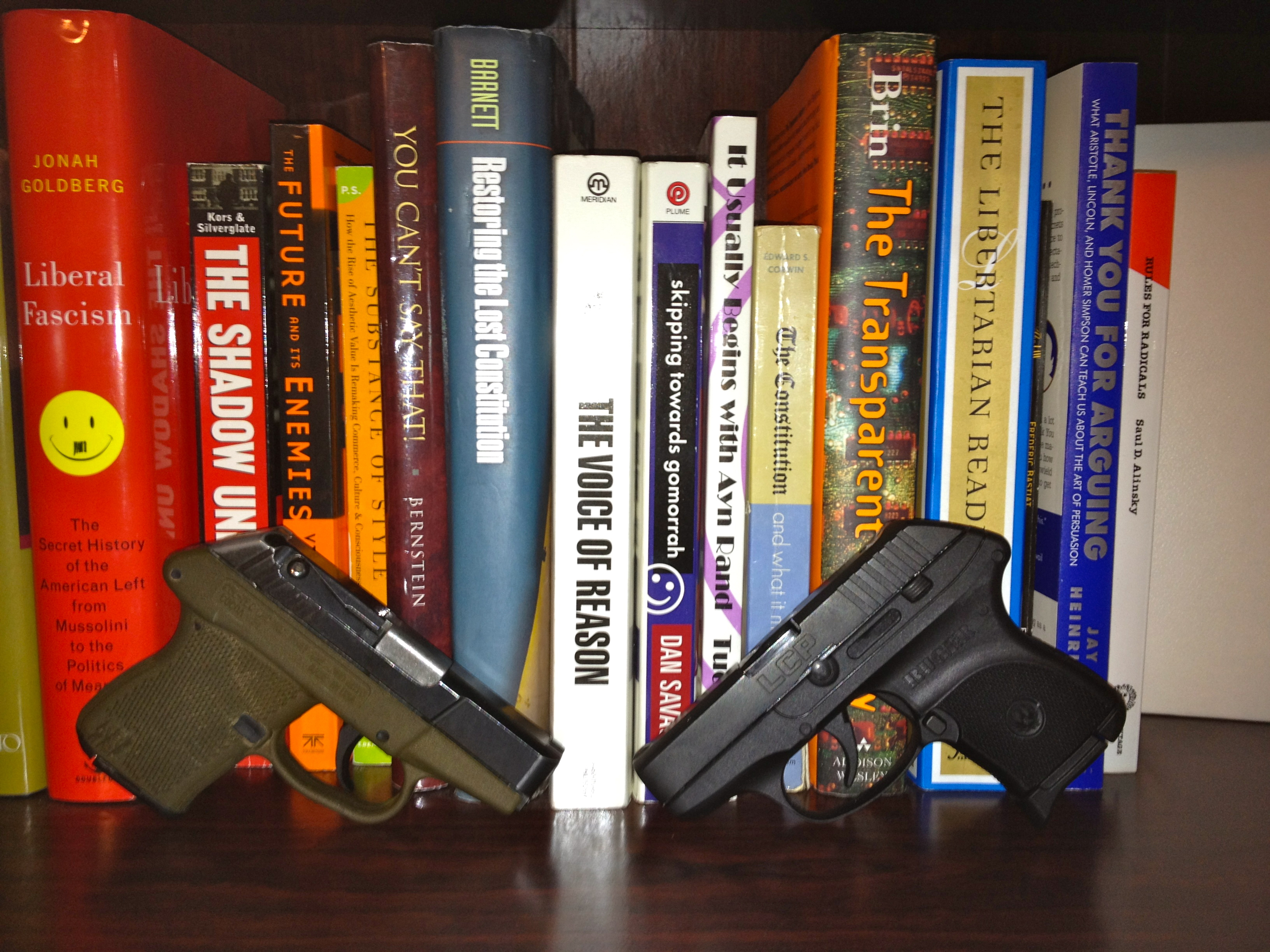 Review: Ruger LCP v  Kel-Tec P3AT   Shall Not Be Questioned
