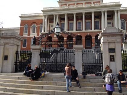 Massachusetts State House Gates