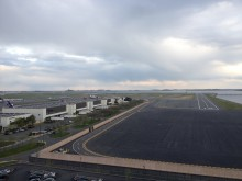 Runway 14 at Logan