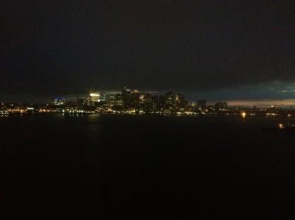 Beantown at Night