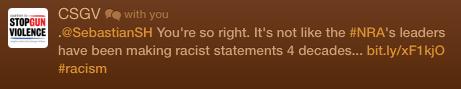 NRA Racists CSGV