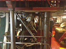 USS Olympia, Engine Room, Cranks and Cams
