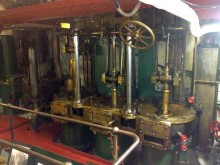 USS Olympia, Engine Room, Auxiliary Engine