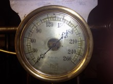 Steam Pressure Gauge, USS Olympia, 7/21/1922
