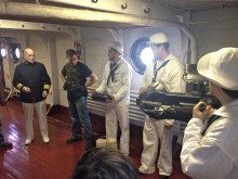 USS Olympia, Gunnery Demonstration