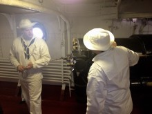 USS Olympia, 5in gun, Primed, Ready to Fire