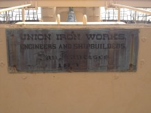 Built by Union Iron Works, San Francisco, 1893
