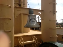 Ship's Bell, USS Olympia, C-6, 1893