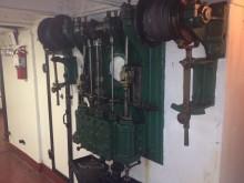 Ash Bucket Steam Engine, USS Olympia