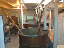 Galley, USS Olympia, Copper Pots