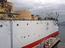 USS Olympia, Starboard Side