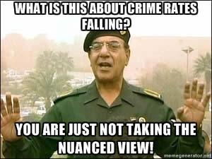 Bagdad Bob Anti-Gun Meme VPC Crime