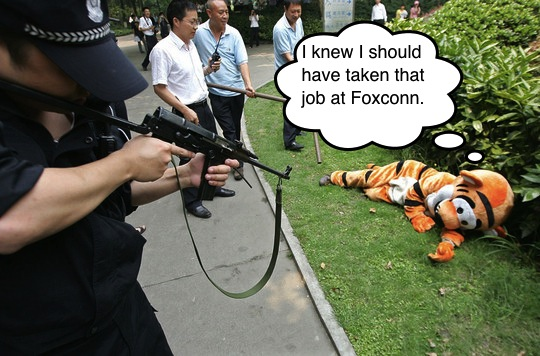 Should Have Taken That Job at Foxconn