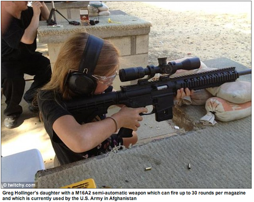 Daily Mail Gets the AR-15 wrong