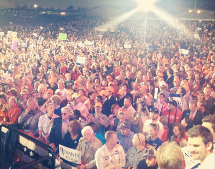 NRA Romney Ryan Endorsement Rally
