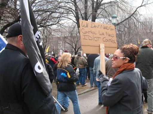 NY Capitol Gun Rally 2/28/2013