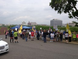 Second Amendment Rally at the Base of the Lower Trenton Bridge