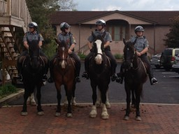 Mounted PA State Troopers