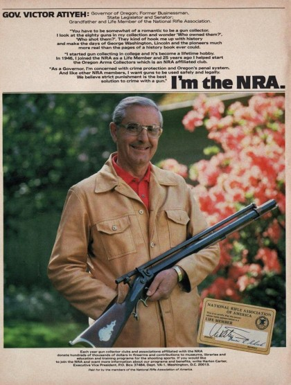 Gov. Atiyeh I'm the NRA Ad