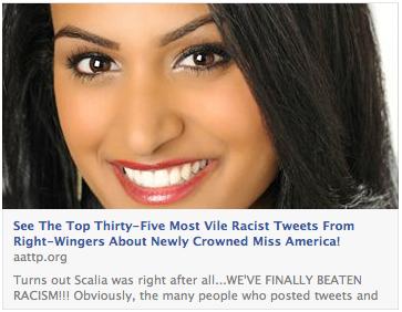 Miss America Racism Meme