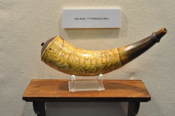 Powder Horn of John Bond, Brimfield, Massachusetts, 1779