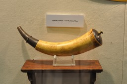 Powder Horn of Ephram Derthick, Roxbury, Massachusetts, 1775