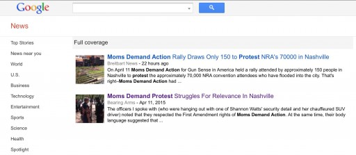 Moms Demand Action News Fail