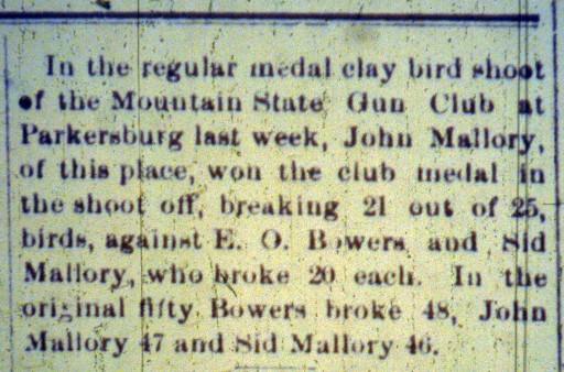 Gun Club Publicity 1899