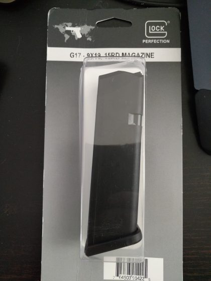 15 round magazine for Glock 17