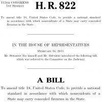House Judiciary Passes HR822