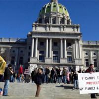 Live Blogging the Pennsylvania Democratic Gun Control Press Conference
